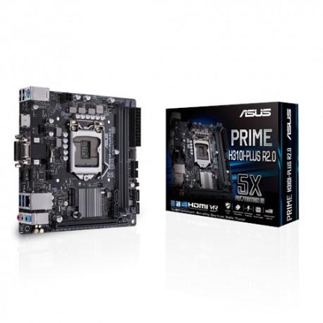 ASUS PRIME H310I-PLUS R2.0 emolevy LGA 1151 (pistoke H4) Mini ITX Intel® H310