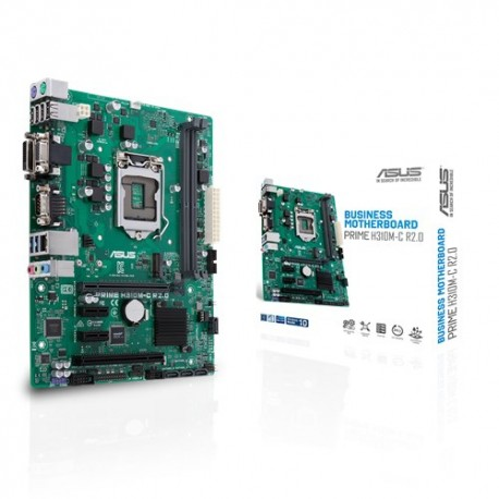 ASUS PRIME H310M-C R2.0 emolevy mikro ATX Intel® H310