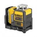 Dewalt Line Laser on 10,8 V:n ristilaser jossa punainen lasersäde