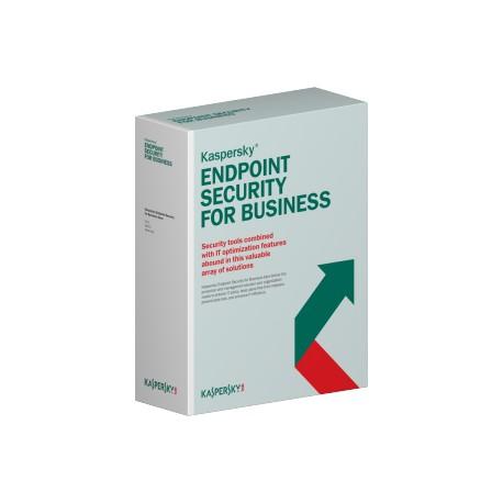 Kaspersky Lab Endpoint Security f/Business - Select, 50-99u, 1Y, EDU RNW Education (EDU) license 1 v