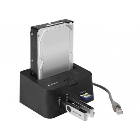 Sharkoon SATA QuickPort Pro LAN Gigabit LAN(RJ-45)