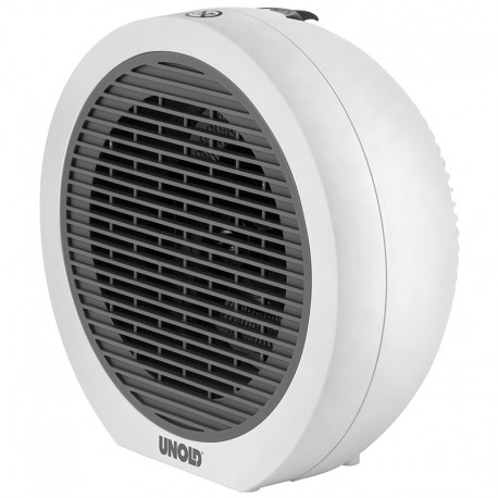 Unold Rondo Sähkökäyttöinen lämpötuuletin Sisätila Harmaa, Valkoinen 2000 W