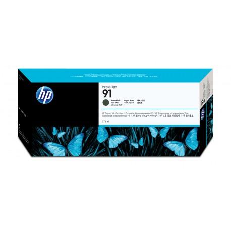 HP 91 Alkuperäinen Mattamusta 1 kpl