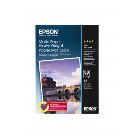 Epson Matte Paper Heavy Weight, DIN A3, 167 g/m², 50 arkkia