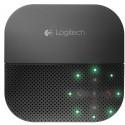 Logitech P710e kaiutinpuhelin Matkapuhelin Musta USB/Bluetooth