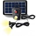 PowerWalker Solar PowerBank akku- ja paristolaturi Musta Litiumioni (Li-Ion) 4,4 mAh
