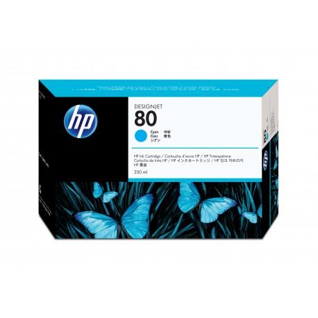 HP 80 350ml Syaani mustekasetti code: C4846A