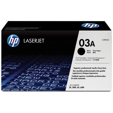 HP 03A Alkuperäinen Musta 1 kpl