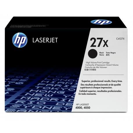 HP 27X Alkuperäinen Musta 1 kpl