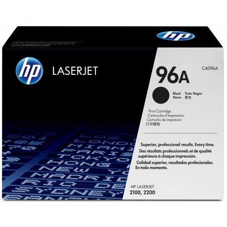 HP 96A Alkuperäinen Musta 1 kpl