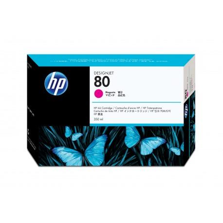 HP 80 Alkuperäinen Magenta