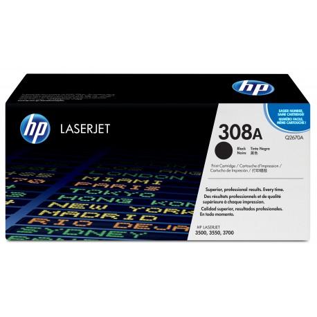 HP 308A Alkuperäinen Musta 1 kpl
