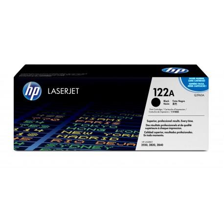 HP 122A Alkuperäinen Musta 1 kpl
