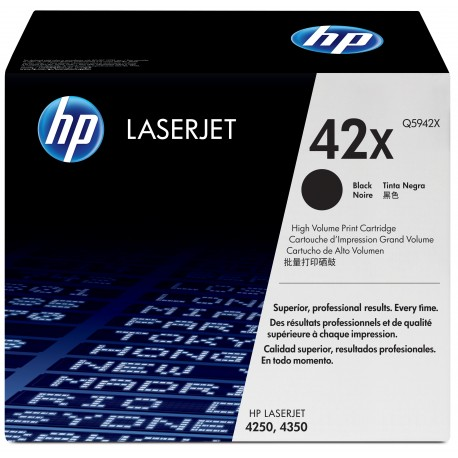 HP 42X Alkuperäinen Musta 1 kpl