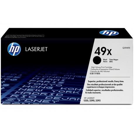 HP 49X Alkuperäinen Musta 1 kpl