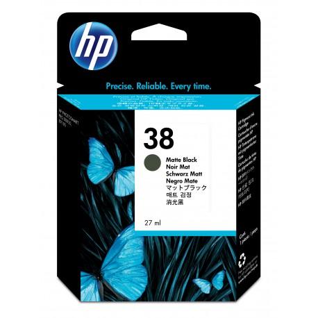HP 38 Alkuperäinen Mattamusta 1 kpl