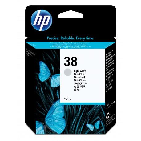 HP 38 Alkuperäinen Vaaleanharmaa 1 kpl