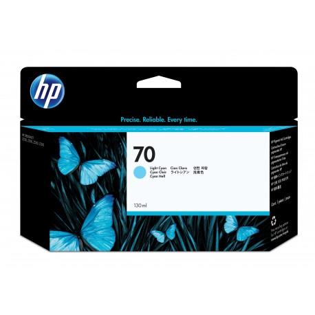 HP 70 Alkuperäinen Vaalea syaani 1 kpl