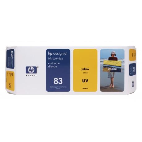 HP 83 Alkuperäinen Keltainen 1 kpl
