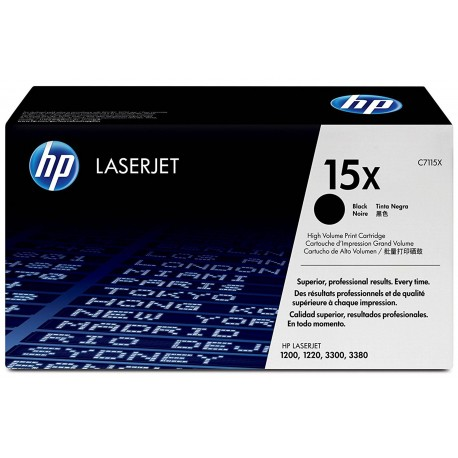 HP 15X Alkuperäinen Musta 1 kpl