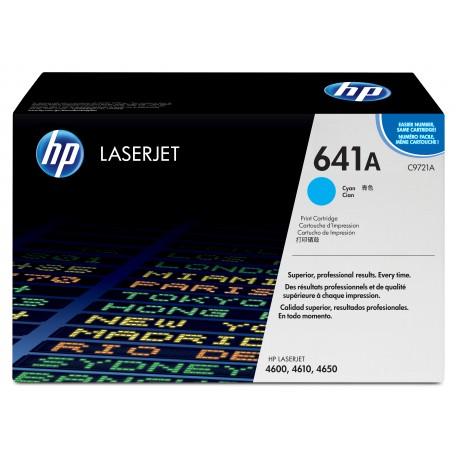 HP 641A Alkuperäinen Syaani 1 kpl