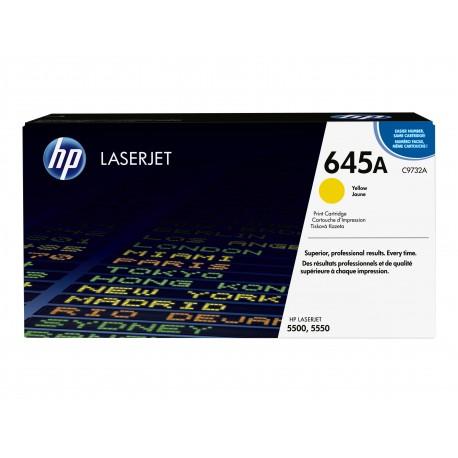 HP 645A Alkuperäinen Keltainen 1 kpl