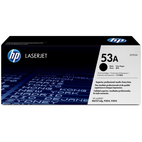 HP 53A Alkuperäinen Musta 1 kpl
