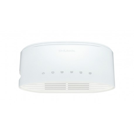 D-Link DGS-1005D/E verkkokytkin Hallitsematon L2 Gigabit Ethernet (10/100/1000) Valkoinen