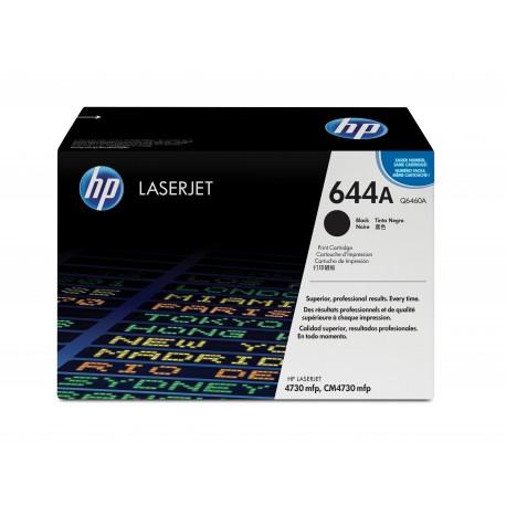 HP 644A Alkuperäinen Musta 1 kpl