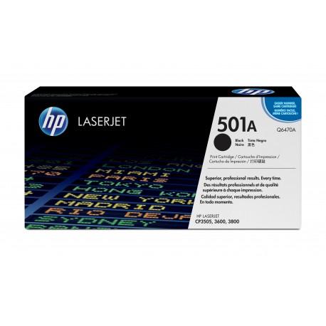 HP 501A Alkuperäinen Musta 1 kpl
