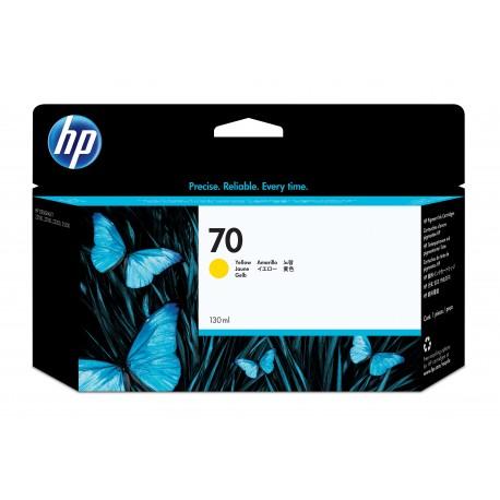 HP 70 Alkuperäinen Keltainen