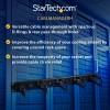 StarTech.com CABLMANAGERH palvelinkaapin lisävaruste Kaapelin hallintapaneeli