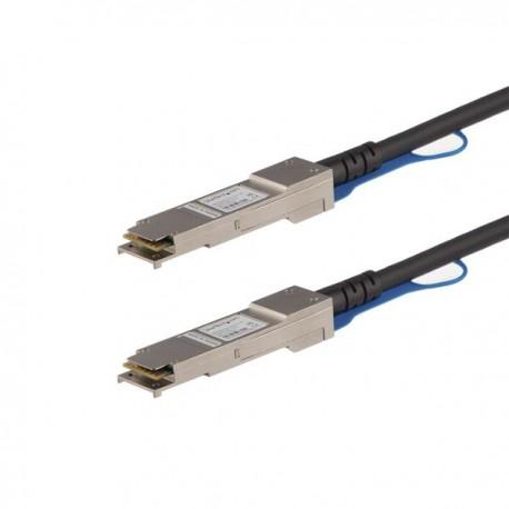 StarTech.com QSFP40GPC1M verkkokaapeli 1 m Musta