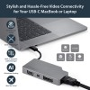StarTech.com CDPVDHDMDPSG USB grafiikka-adapteri 3840 x 2160 pikseliä Harmaa