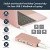 StarTech.com CDPVDHDMDPRG USB grafiikka-adapteri 3840 x 2160 pikseliä Ruusukulta