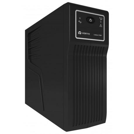 Vertiv Liebert PSP 650VA (390W) UPS-virtalähde Valmiustila (ilman yhteyttä) 4 AC-pistorasia(a)