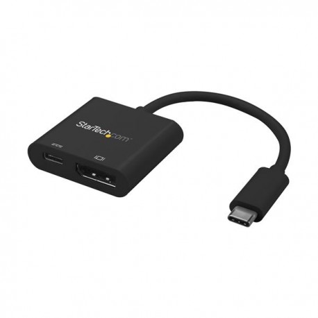 StarTech.com CDP2DPUCP USB grafiikka-adapteri 3840 x 2160 pikseliä Musta