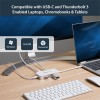 StarTech.com DKT3CHSD4GPD kannettavien tietokoneiden telakka ja porttitoistin Langallinen USB 3.0 (3