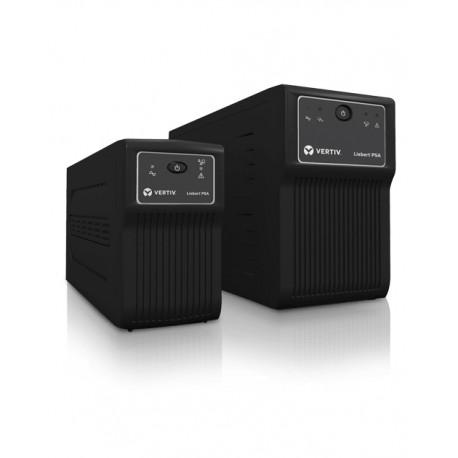 Vertiv Liebert PSA 500VA UPS-virtalähde Linjainteraktiivinen 300 W 4 AC-pistorasia(a)