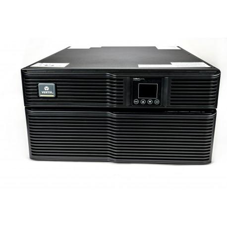 Vertiv Liebert GXT4-5000RT230E UPS-virtalähde Taajuuden kaksoismuunnos (verkossa) 5000 VA 4000 W 8 A