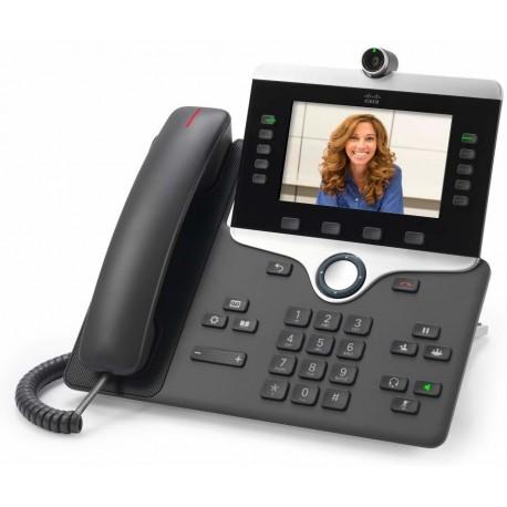 Cisco 8845 IP-puhelin Musta Johdollinen puhelin LCD