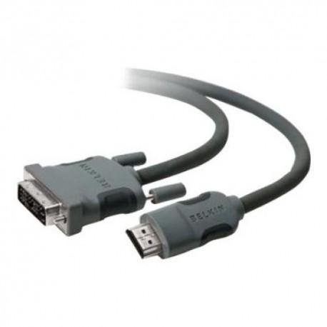 Belkin HDMI - DVI-D M/M 1.8m 1,8 m HDMI-tyyppi A (vakio) Musta