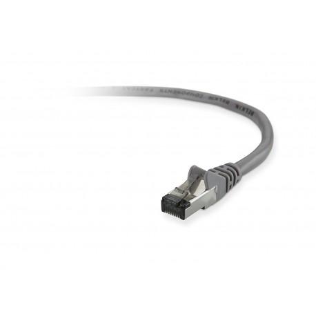 Belkin 1m Cat5e STP verkkokaapeli U/FTP (STP) Harmaa