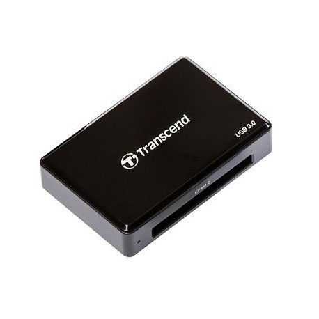 Transcend CFast 2.0 USB3.0 kortinlukija Musta
