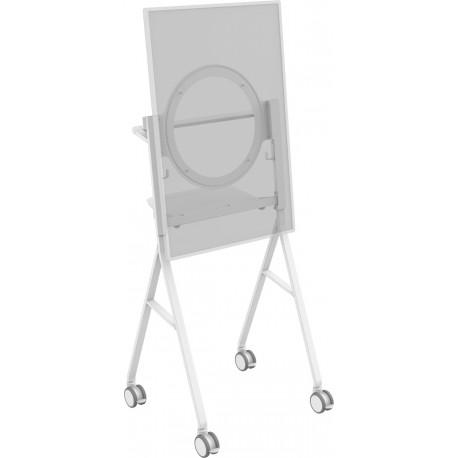 """Vision VFM-F10/HB litteän näytön jalusta 139,7 cm (55"""") Siirrettävä teline Valkoinen"""