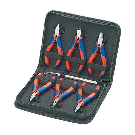 Knipex 00 20 16 tekninen työkalusetti 7 työkalua