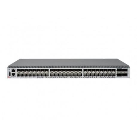 Hewlett Packard Enterprise StoreFabric SN6600B 32Gb 48/24 FC Hallittu None Harmaa 1U