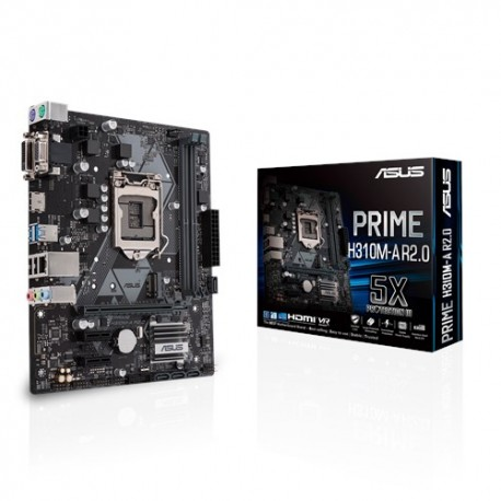ASUS PRIME H310M-A R2.0 emolevy LGA 1151 (pistoke H4) mikro ATX Intel® H310