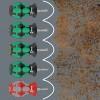 Wera 05008901001 käsikäyttöinen ruuvimeisseli Setti Standardi