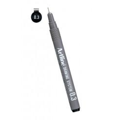 Artline Line 233 Drawing Black